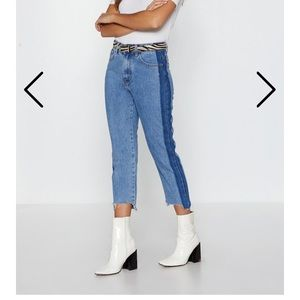 Nasty Gal Mom jeans